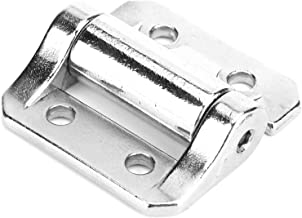 Kitchen Cabinet Hinges, Cabinet Hinges, Small Kitchen Gate for Cabinet Door(Silver)