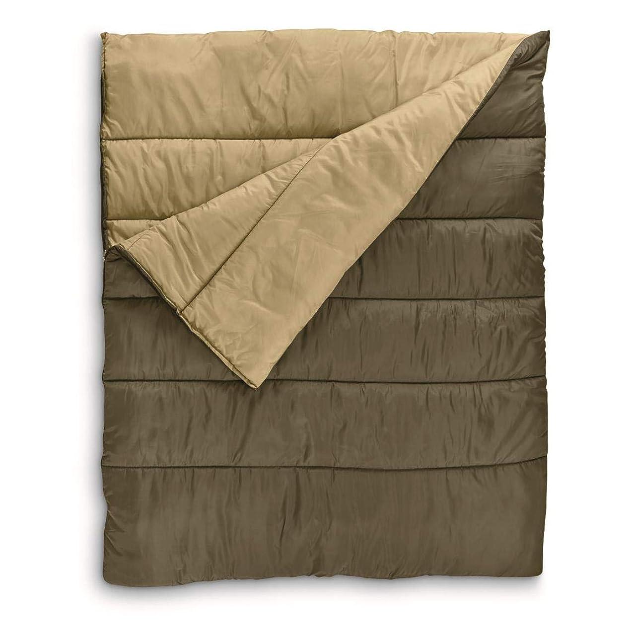 Guide Gear Rectangular Double Sleeping Bag, 20°F