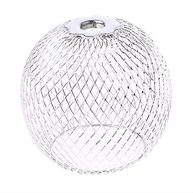 PMWLKJ abat-jour en fer lustre rond couvercle de la lampe couverture à la main lumière abat-jour salon décor