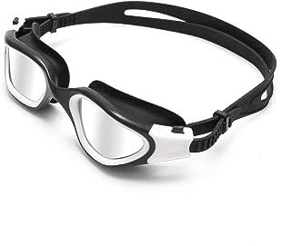Peacoco Swimming Goggles, Polarized Swim Goggles with...