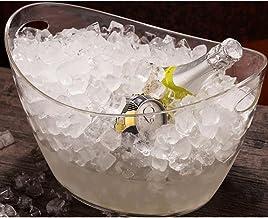 SMEJS Ijsemmer,Clear Acryl Liter Goed voor tot wijn of champagne flessen ijsemmer