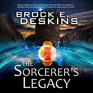 The Sorcerer's Legacy audiobook cover art