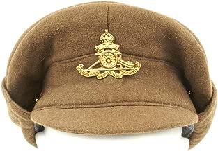 British WWI Gor Blimey 1915 Winter Forage Trench Wool Cap- Size US 7 1/2 (60cm)