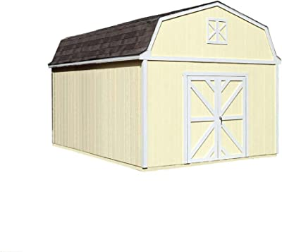 Amazon com : Lifetime 6402 Outdoor Storage Shed, 8 by 12 5