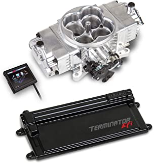 NEW HOLLEY TERMINATOR STEALTH EFI KIT WITH GM TRANSMISSION CONTROL,4 BBL THROTTLE BODY FUEL INJECTION SYSTEM,POLISHED,950 CFM,COMPATIBLE WITH V8 250-600 HP ENGINES