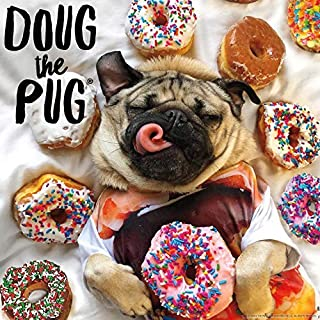 Buffalo Games - Doug The Pug - Donut Doug - 300 Large Piece Jigsaw Puzzle, Multicolor