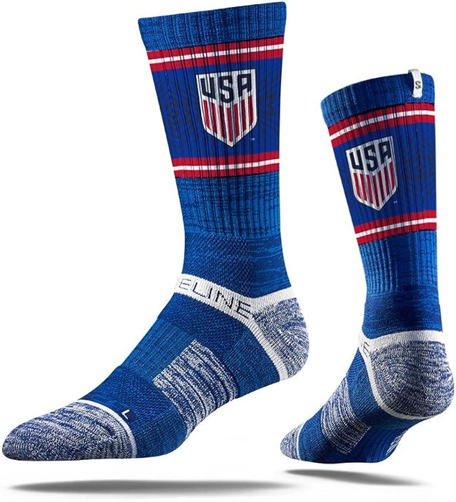 United States Strideline Soccer Youth Finally popular brand Calf-High Siz Luxury Royal Socks