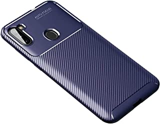 FanTing Case for LG Q92 5G, Anti-Slip Ultra Thin Shock Absorption Anti Scratch Protective, Cover for LG Q92 5G -Dark Blue