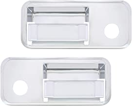 United Pacific 41618 Chrome Plastic Volvo Exterior Door Handle Cover (Set of 2)