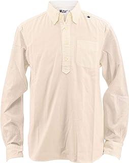 [SWEEP!! スウィープ!!] メンズ コットン スラブシャンブレー プルオーバー カプリボタンダウンシャツ PULL SLUB CHAMBREY WHITE(ホワイト)