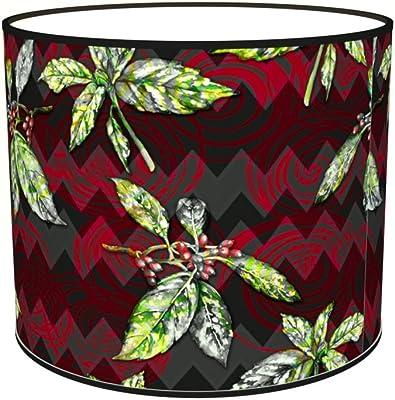 Abat-jours 7111306590560 Imprimé Télio Lampadaire, Tissus/PVC, Multicolore