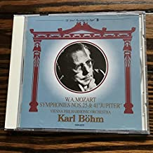 Bohm / Mozart: Symphony No. 25 & No. 41