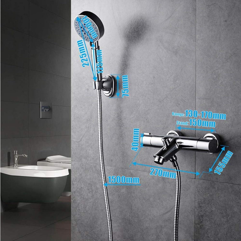 MPYSmart thermostat shower set copper shower faucet temperature control shower faucet