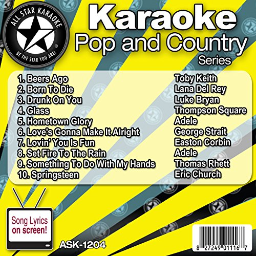 All Star Karaoke Pop and Country Series (ASK-1204)