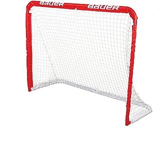 Bauer Junior REC Steel Goal, 48 x 37-Inch, Red