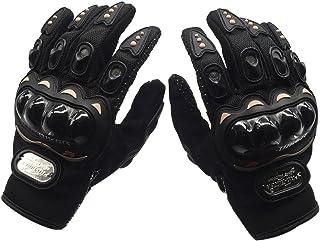 XL Gants Tactiles en Cuir Respirant WANYI Gants Moto Homologue Certifie CE Gants Moto Homologu/é Homme Femme Mi Saison Gants Complets de Moto de Cyclisme de Doigt