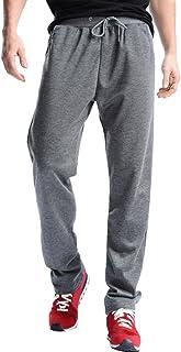 comprar comparacion VPASS Pantalones para Hombre,Pantalones Casuales Moda Deportivos Color sólido Pants Jogging Pantalon Fitness Gym Slim Fit ...