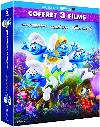 Les Schtroumpfs + Les Schtroumpfs 2 + Les Schtroumpfs, le village perdu [Blu-ray + Digital UltraViolet]