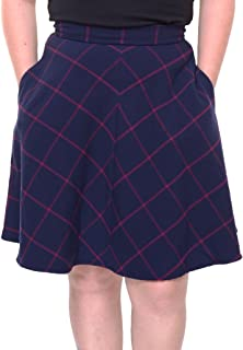 Womens Printed A-Line A-Line Skirt