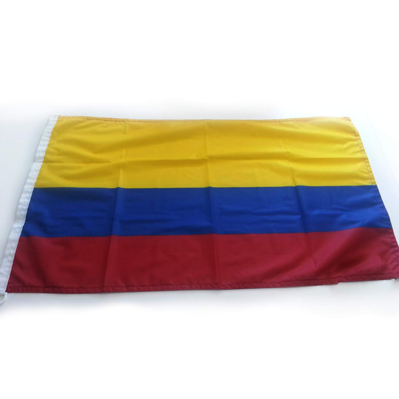 Adatech Bandera de Colombia 90x150 cm Bandera Colombiana Poliester ...