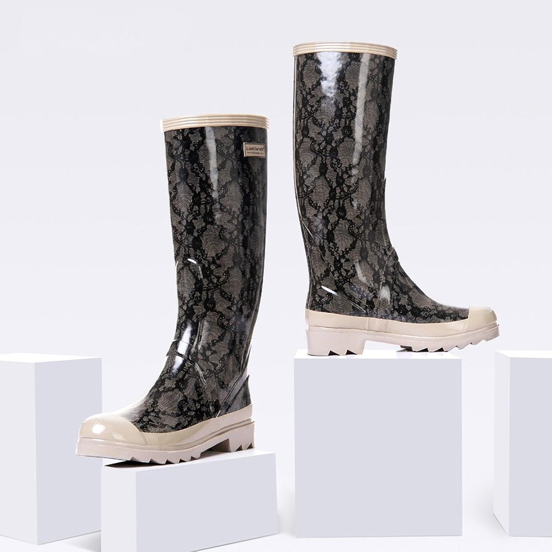 Skor Skor Skor som är vattentäta för kvinnor med kraftigt regnstövlar  köp bäst