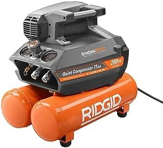 Best ridgid 4.5 gallon air compressor 150 psi Reviews