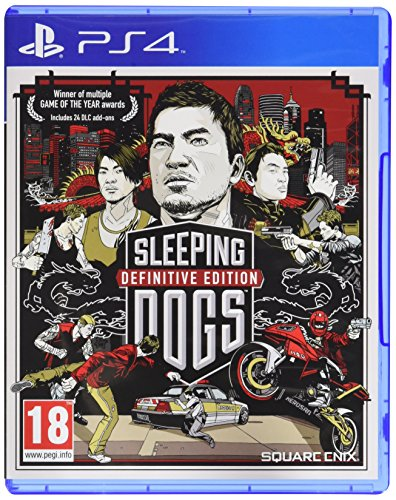 Sleeping Dogs . Definitive Edition PS4