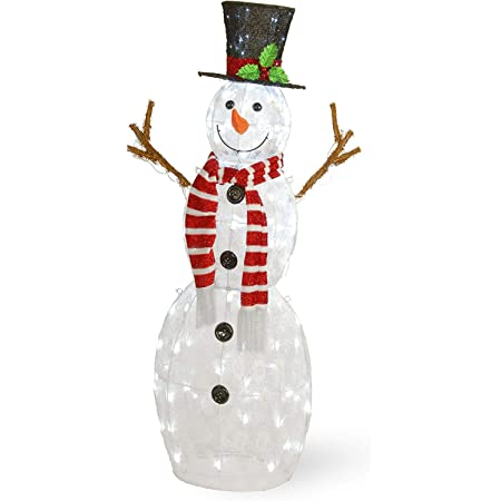 """Details about  /6/"""" SNOWMAN WIND SPINNER Red Green Stainless Steel Christmas Design EX DISPLAY"""