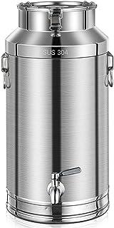 304 Acier Inoxydable peut, avec le vin de Brassage à la Maison de Fermenteur de tête de roue de L'eau, Réservoir de Stocka...