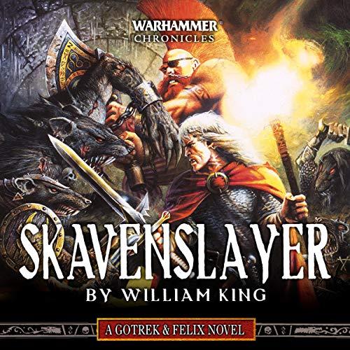 Skavenslayer audiobook cover art