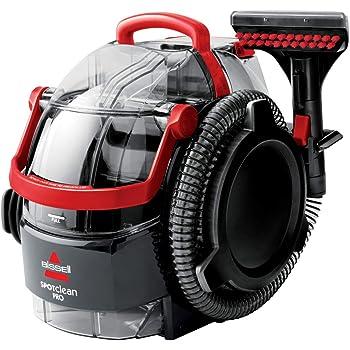 Bissell 1558N Limpiador a Mano para Manchas y alfombras, 750 W, 6.4 litros, 84 Decibelios, Plastic, Rojo/Negro: Amazon.es: Hogar
