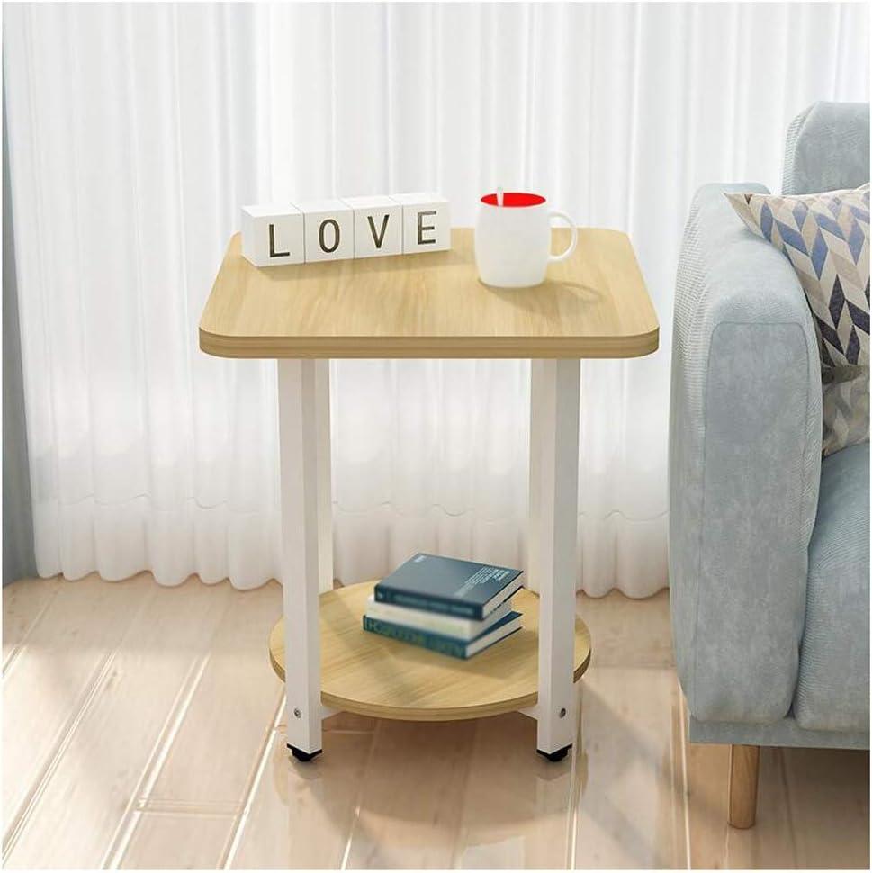 LQ Simple Modern National uniform free shipping Sofa Side Small Table Bedroom Mini Max 50% OFF Square