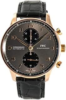 IWC Portuguese Automatic-self-Wind Male Watch IW371482 (Certified Pre-Owned)