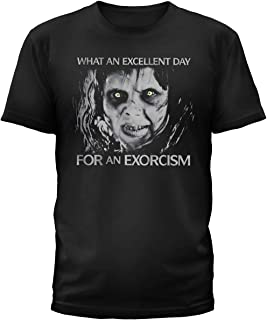 The Exorcist Black T-Shirt, an Excellent Day for an Exorcism