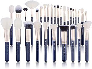 Jessup Brush Set Make up Brushes Powder Brush Face Lip Make-up Brush Professional Beauty Brush Tools&Kits 30 Pcs Prussian ...