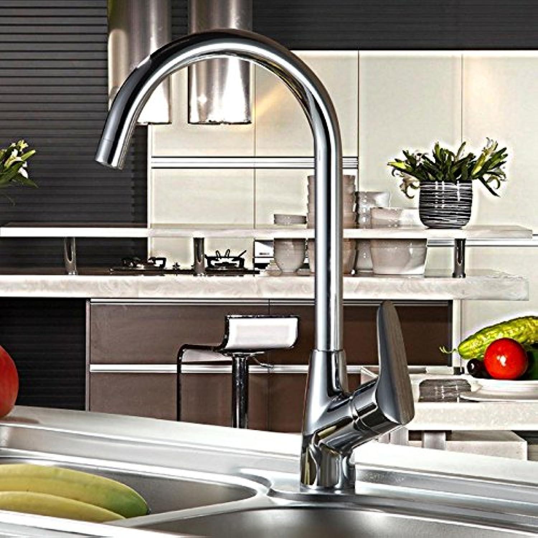 Gyps Faucet Waschtisch-Einhebelmischer Waschtischarmatur BadarmaturDas Kupfer Küche Wasserhahn heie und kalte Gerichte Edelstahl Waschbecken Waschbecken Wasser Kfig und Schumen ist die Spill-