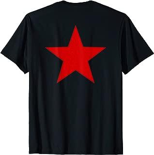 Soviet Russian Army Red Star T-shirt - Back Print
