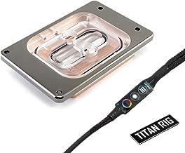 XSPC Raystorm Neo Waterblock, AMD Threadripper CPU (Socket TR4), Black Chrome