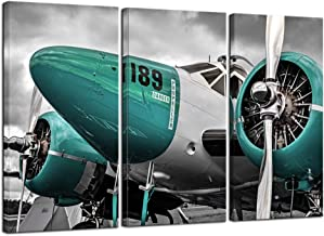 Airplane Take Off Different Engine Retro Aircraft Art Wall Cloth Poster 9