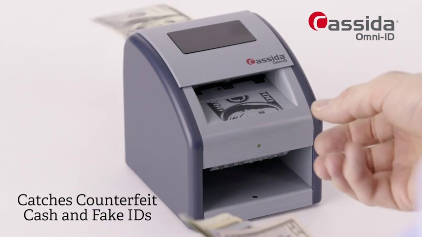 Cassida InstaCheck Automatic Counterfeit Detector with Infrared Technology D-IC