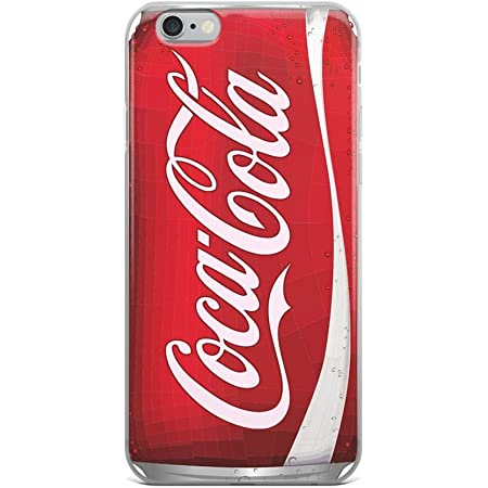 Amazon.com: iPhone 6/6s Pure Clear Case Cases Cover coca-cola can