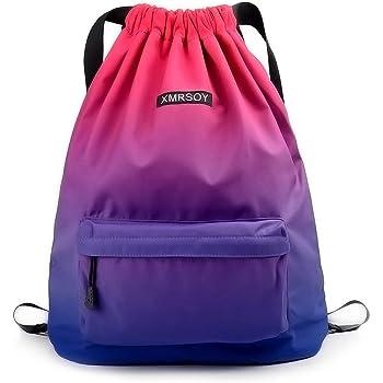 Drawstring Backpack Dancing Bag school Sackpack Rock and Roll Music Band Album Art fashion Adjustable Gymsack for Men Women