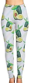 High Waist Yoga Pants, Tummy Control Workout Running Pants Camera Doodle Pattern