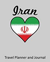 Iran: Vacation Travel Planner and Journal (8 x 10)
