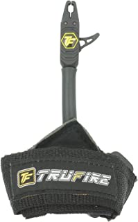 TruFire Patriot Archery Compound Bow Release – Adjustable Black Wrist Strap…