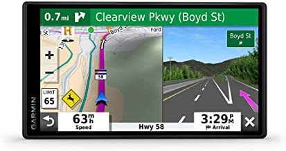 "Garmin DriveSmart 55 & Traffic: GPS navigator with a 5.5"" display, hands-free calling, included traffic alerts and information to enrich road trips"