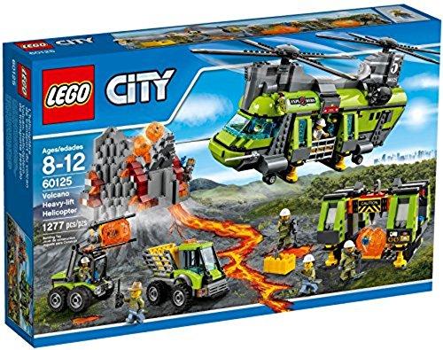 LEGO City 60125 - Vulkan-Schwerlasthelikopter