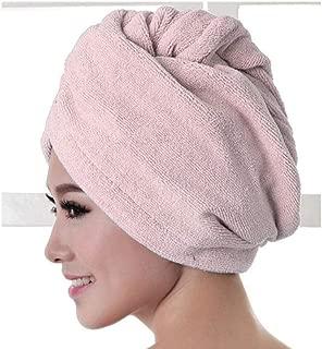 Yangfeng Christmas Magic Quick Dry Hair Hat Women Bathroom Super Absorbent Microfiber Bath Towel Hair Dry Cap C- Quick-drying towel