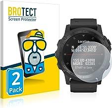 BROTECT Protector Pantalla Anti-Reflejos Compatible con Garmin D2 Charlie/Tactix Charlie (2 Unidades) Pelicula Mate Anti-Huellas