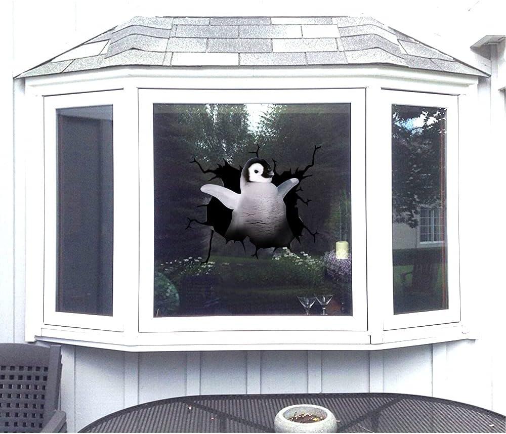 3 55% OFF pcs Animal Lover Gift Sticker Deca Cute Penguin Financial sales sale Vinyl